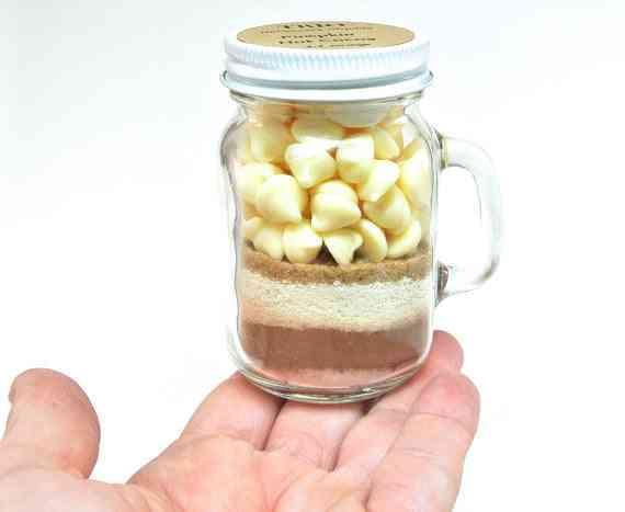 Pumpkin Hot Chocolate Mix Mason Jar