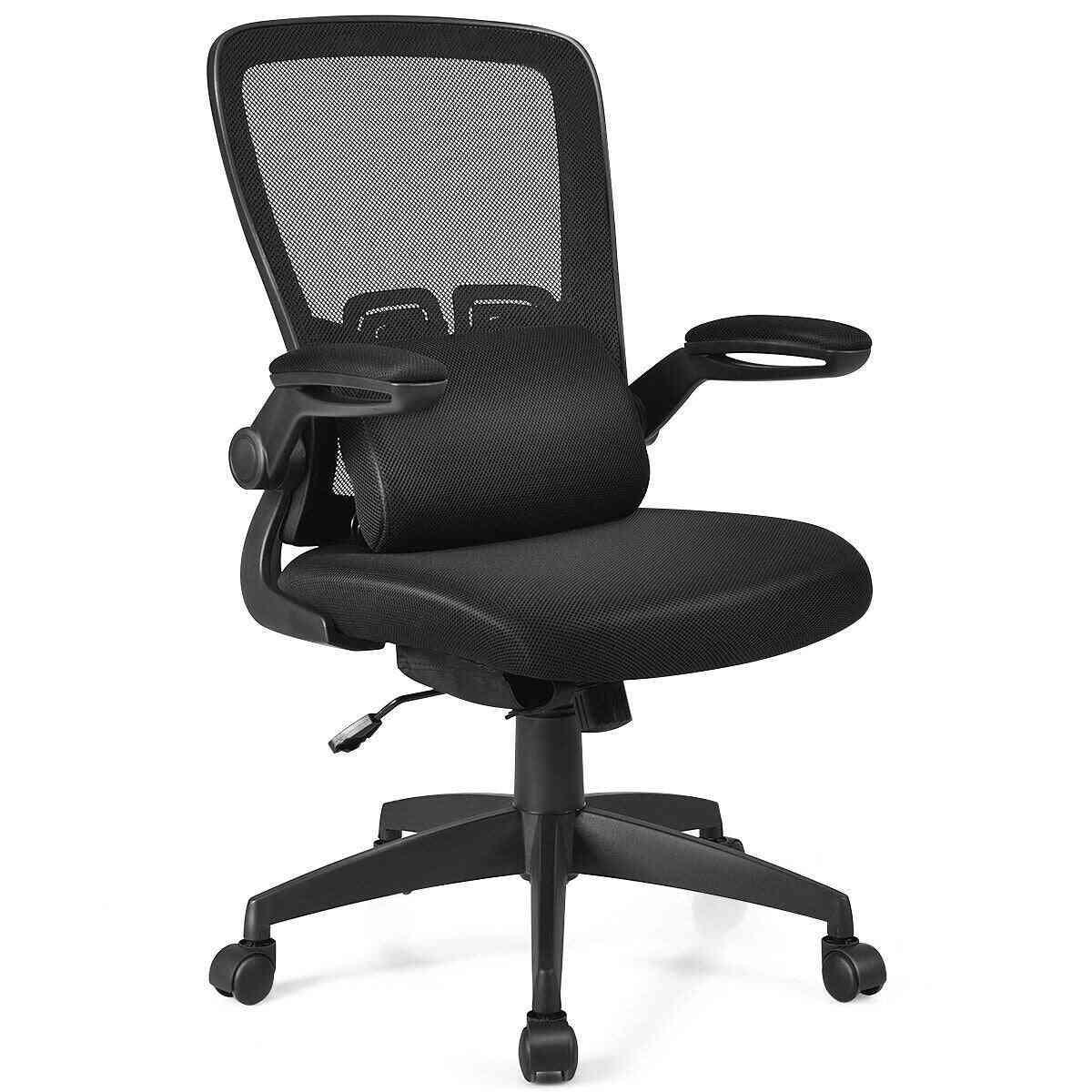 Desk Chair With Flip Up Armrest