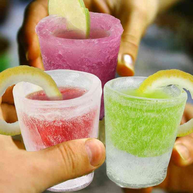 Ice Shot Glasses Shaped Silicon Mould
