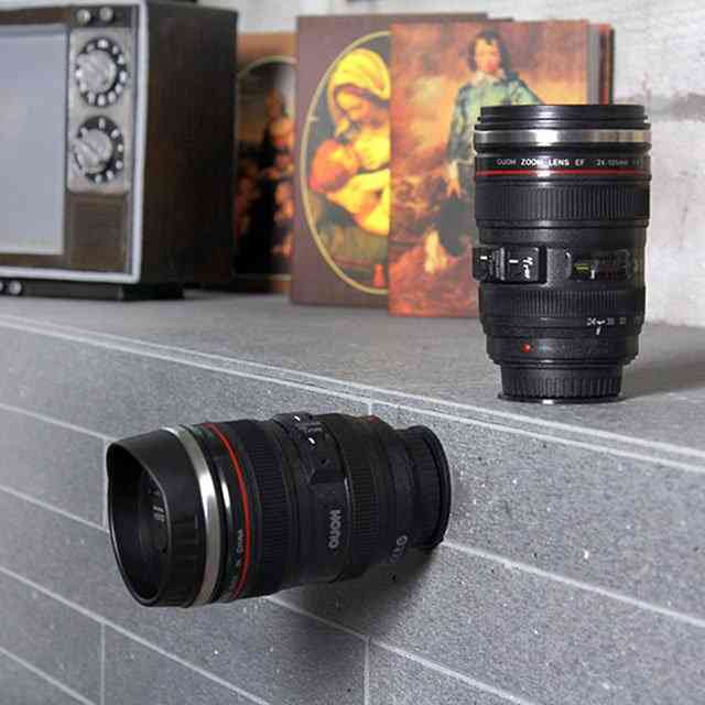 Not Inverted Camera Cup