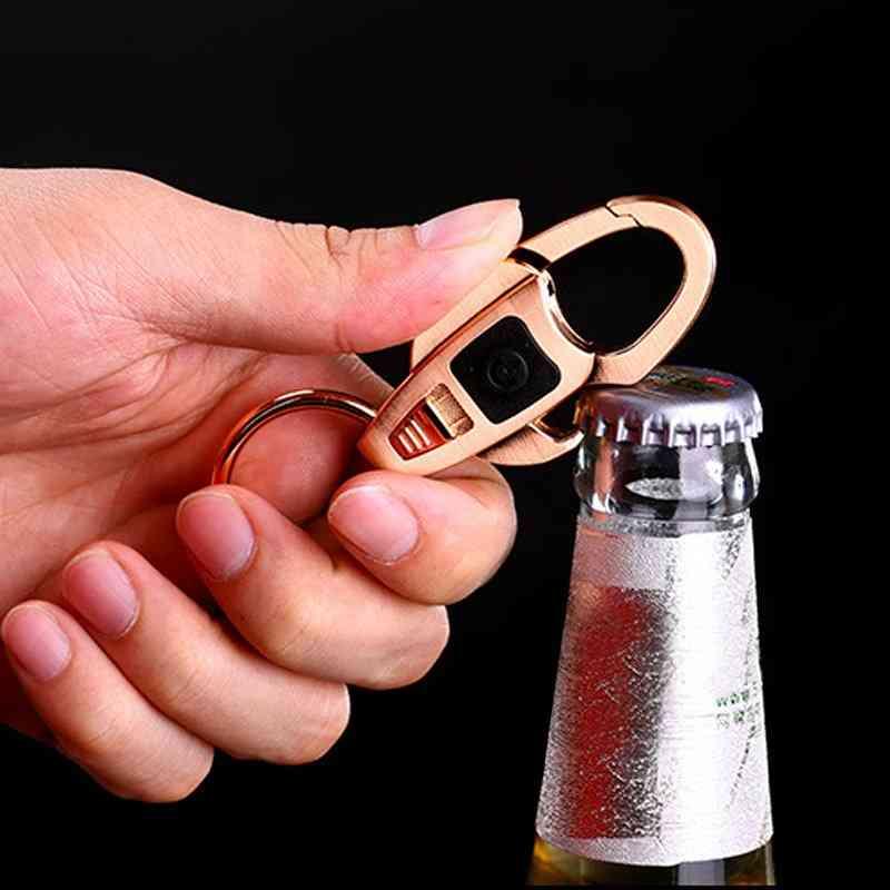 Bottle Opener & Torch Keychain