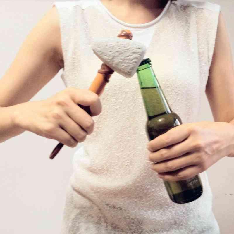 Stone Age Bottle Opener