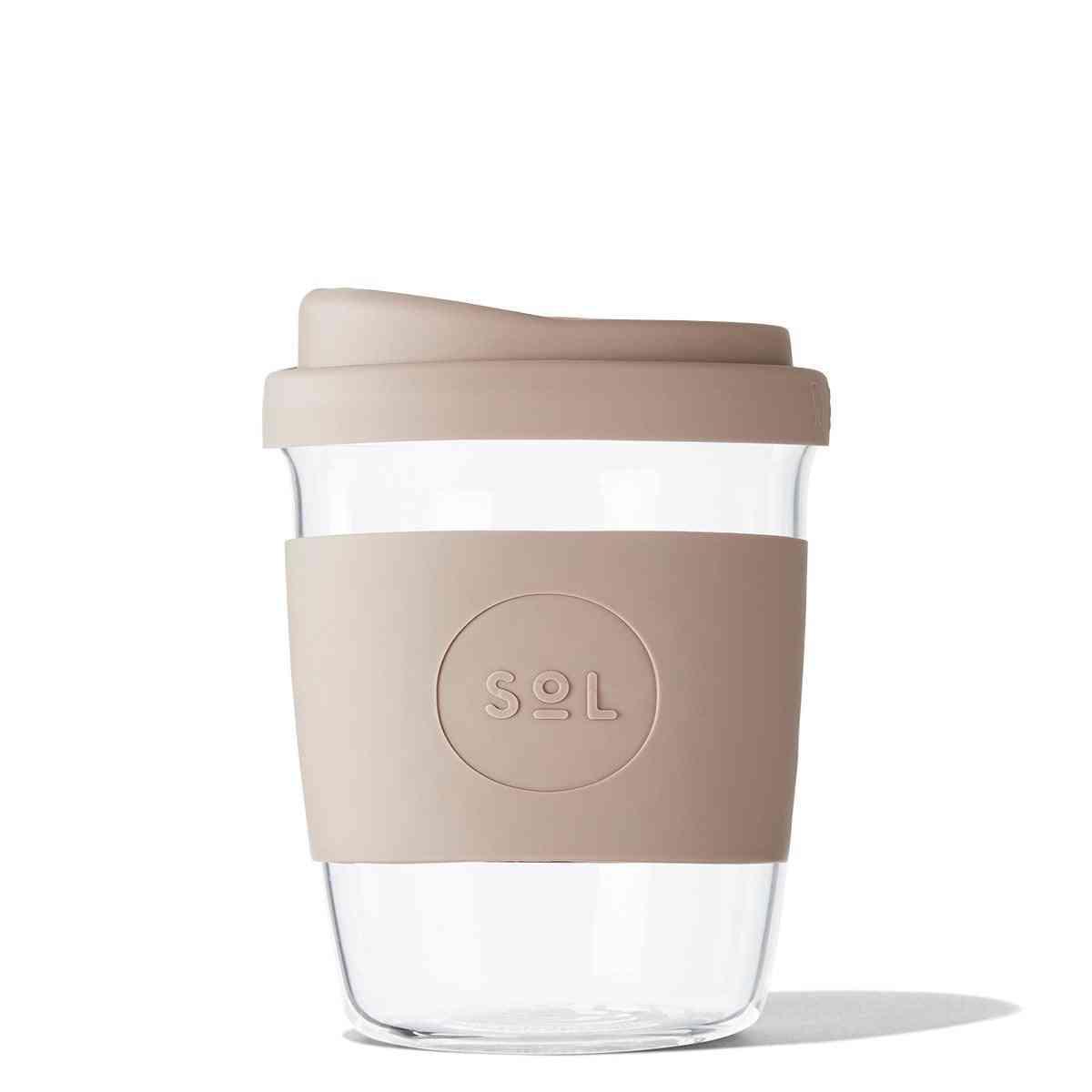 Sol Cups Seaside Slate Thermal Sleeve Cups