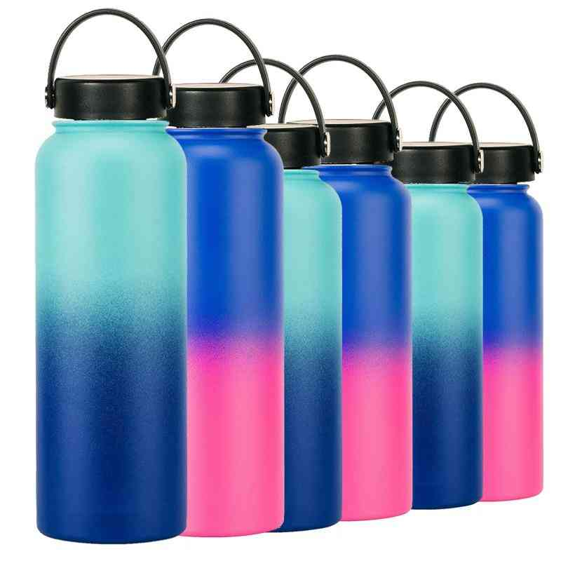 Double Wall, Stainless Steel, Vacuum Insulated Water Bottle