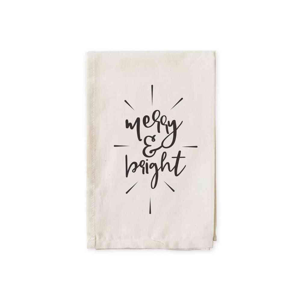 Mery And Bright-cotton Canvas Muslin Napkins