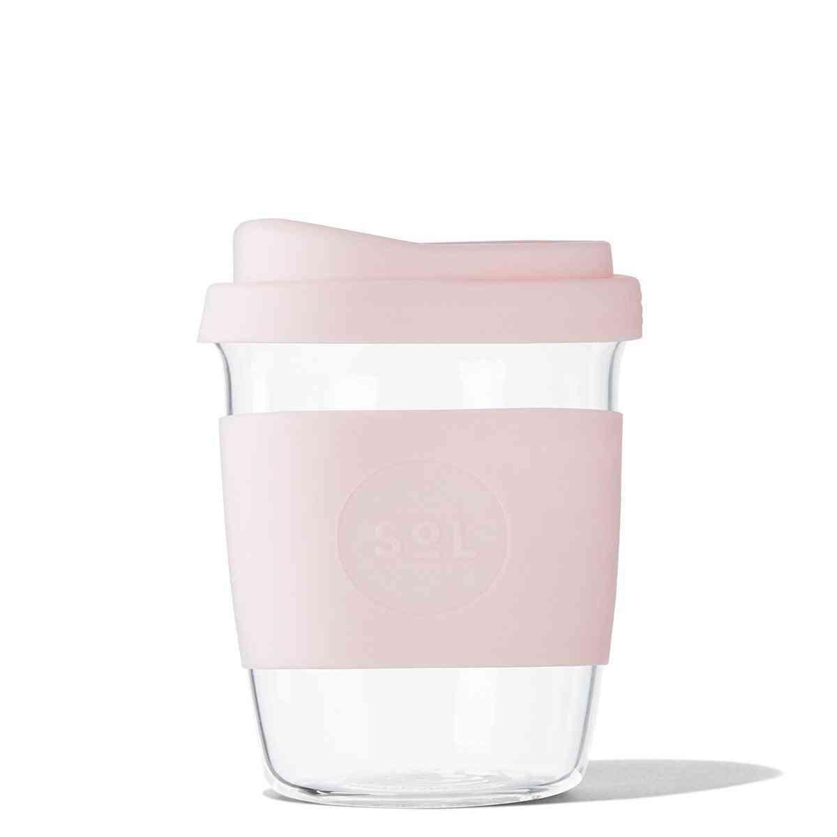 Perfect Pink Glass Travel Tumbler