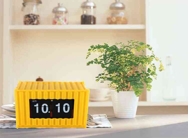 Box Container Auto Flip Clock