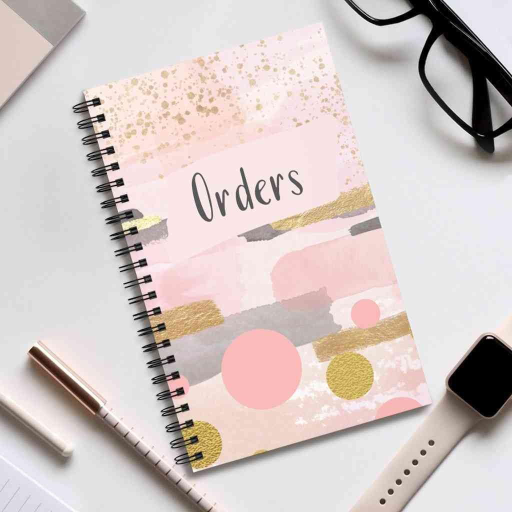 Limited Edition Pink Order Book