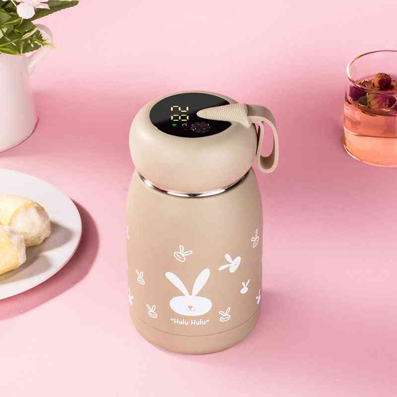 Stainless Steel Smart Vacuum Thermos Bottle