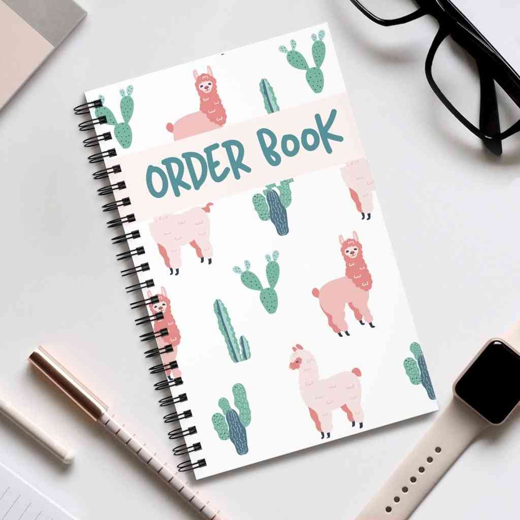 A5 Order Book 100 Pages