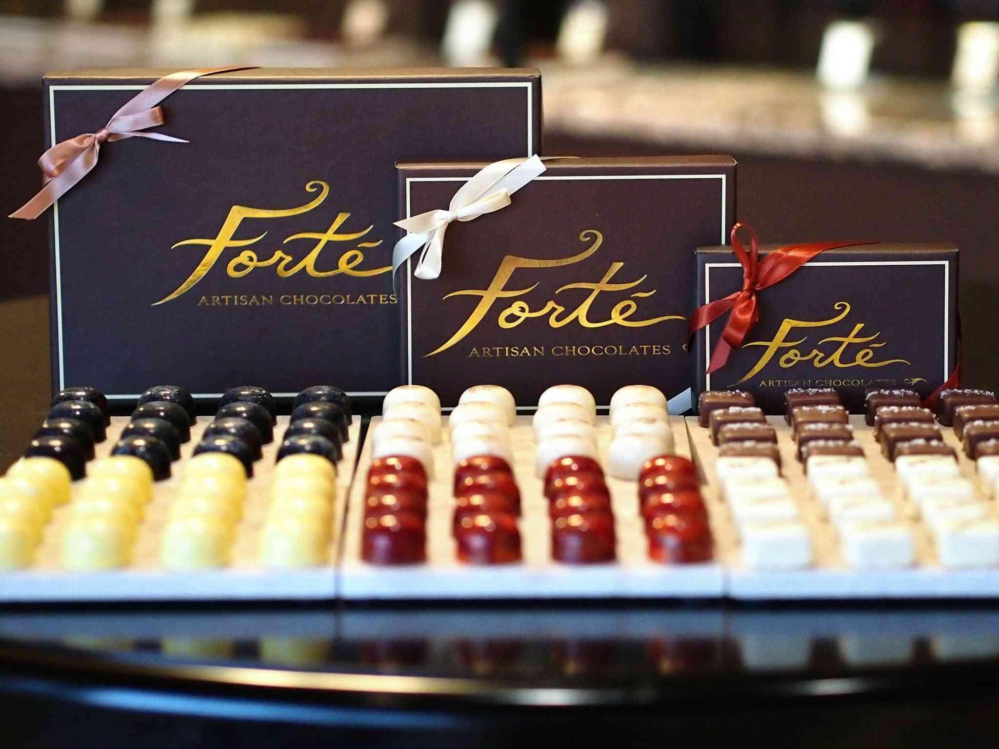 Assorted Truffle And Caramel Box