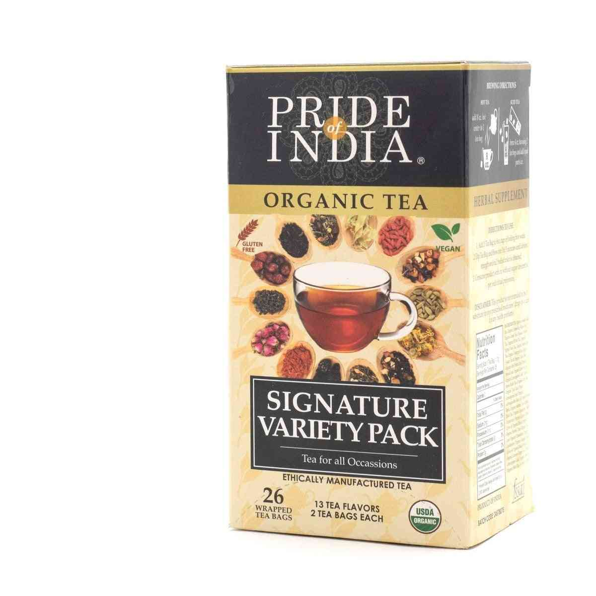 Organic Assorted Signature Variety Tea Bags