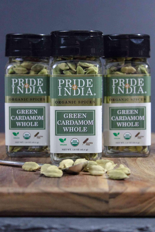 Organic Green Whole Cardamom