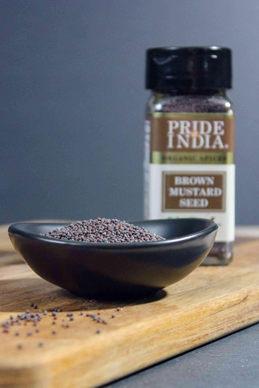 Organic Brown Mustard Seed Whole