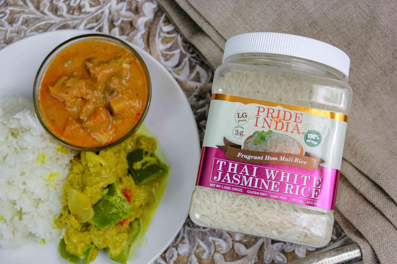 Natural Thai Hom Mali White Jasmine Rice