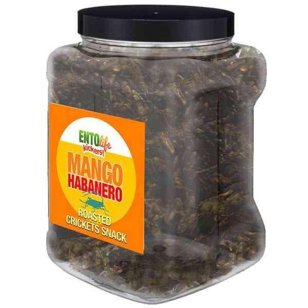 Habanero Mango Flavored Cricket Snack
