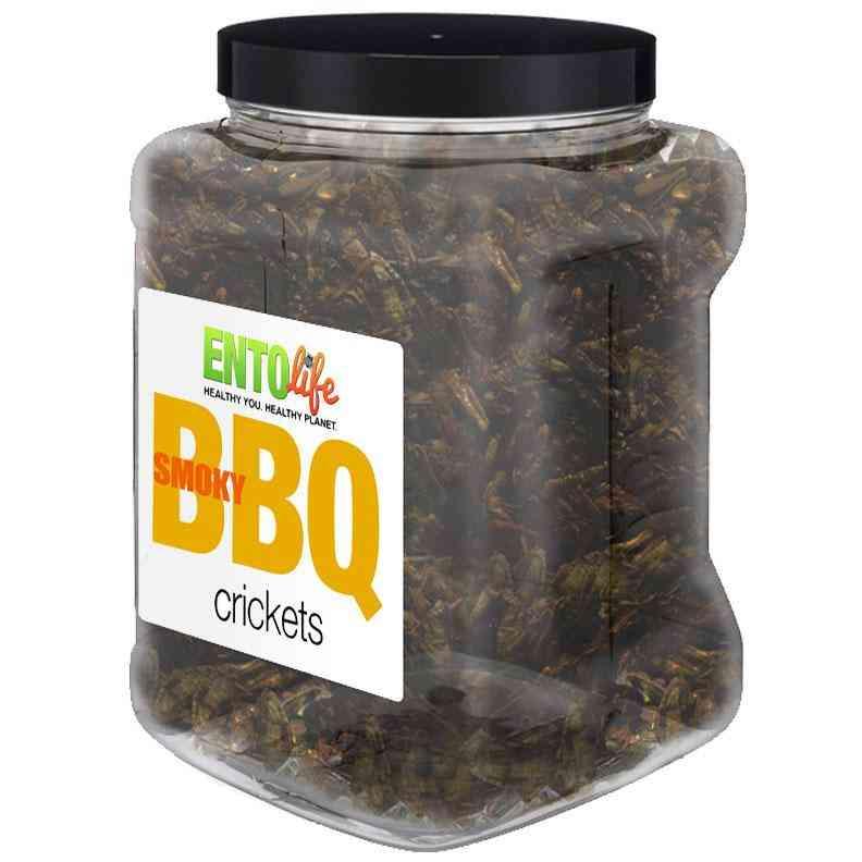 Smokey Bbq Flavored Cricket Snack