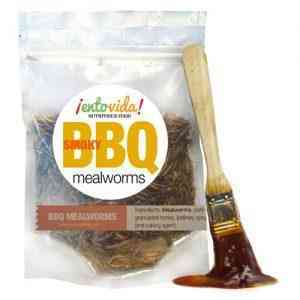 Bbq Flavored Whole Roasted Mealworms