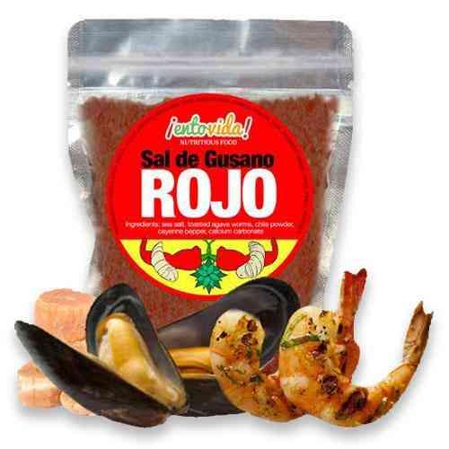 Gourmet Red Worm Salt