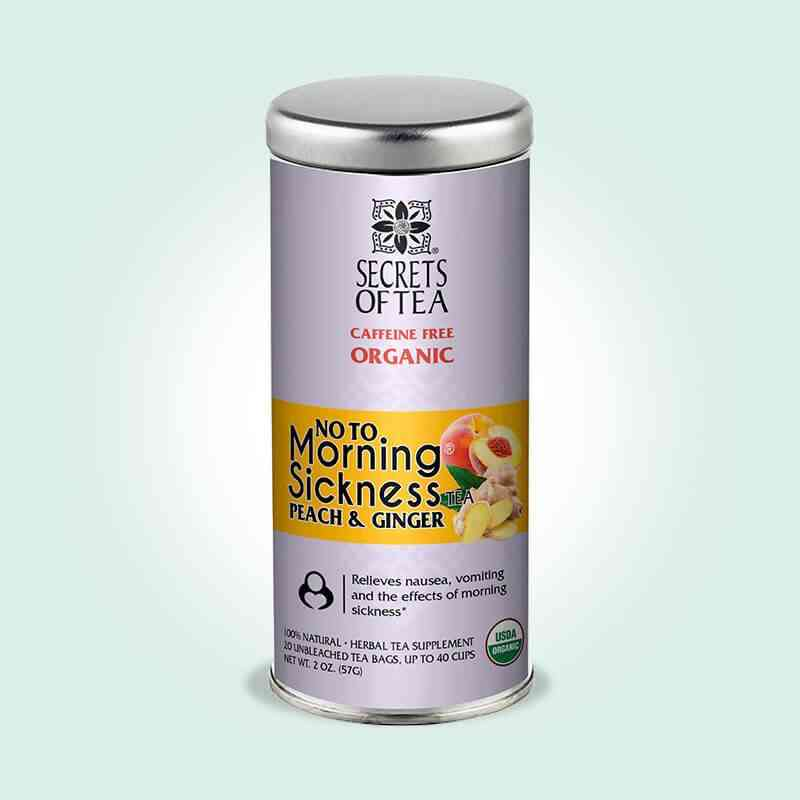 Morning Sickness Tea Peach And Ginger