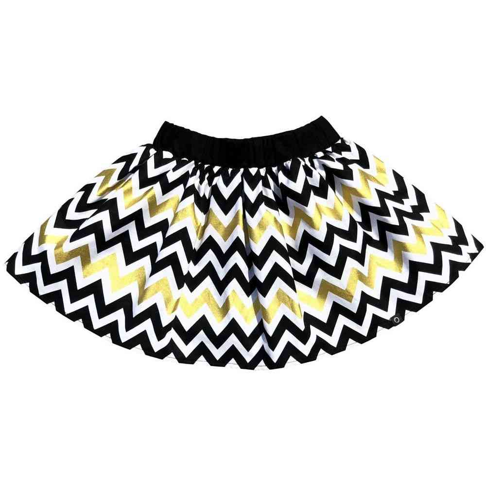 Zig Zag Pattern Skirt