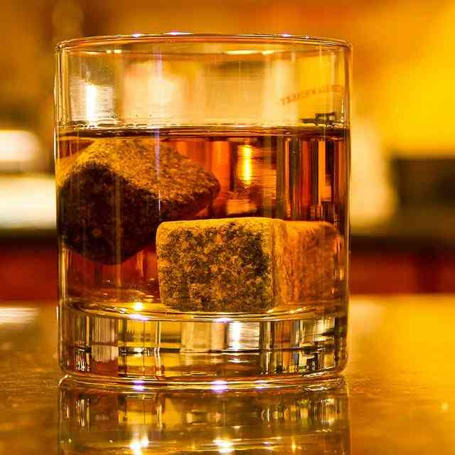 Natural Square Stones-reusable Ice Cubes