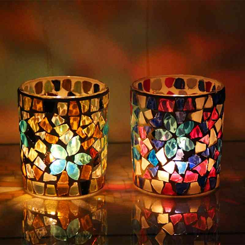 Handmade Votive Centerpiece Candle Holders