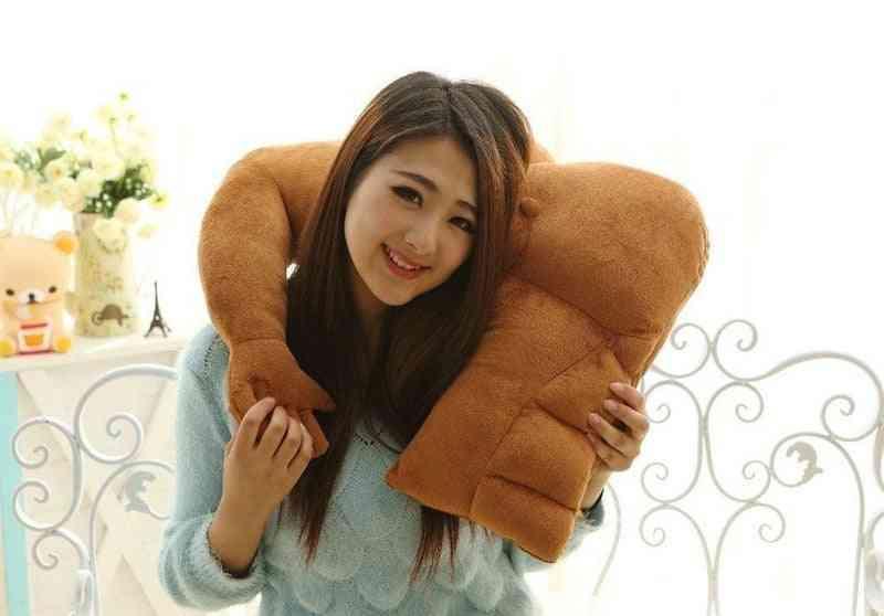 Muscle Man Body Arm Plush Cotton Cushion Pillow