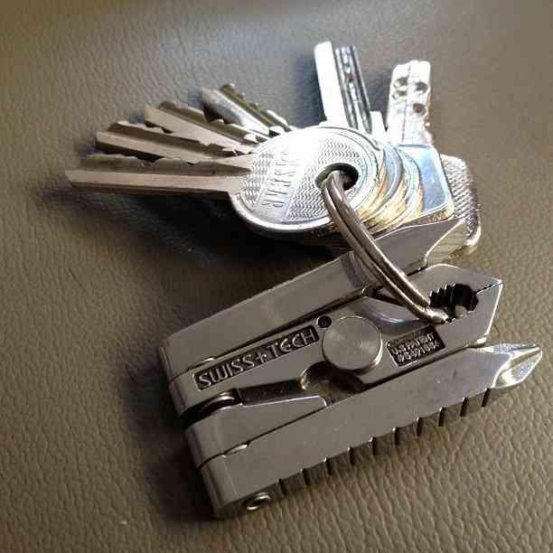 Swiss Tech Micro Max 19-in-1 Keychain Multitool