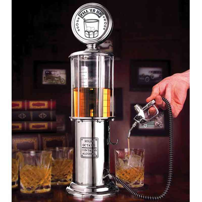 Two Pump With Transparent Layer Design For Beer, Wine Dispenser