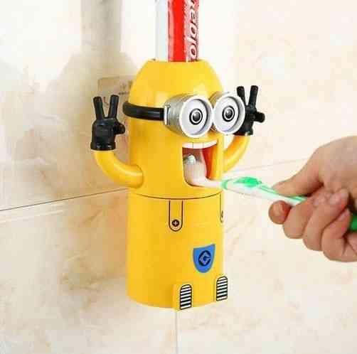 Little Minion Toothpaste Dispenser