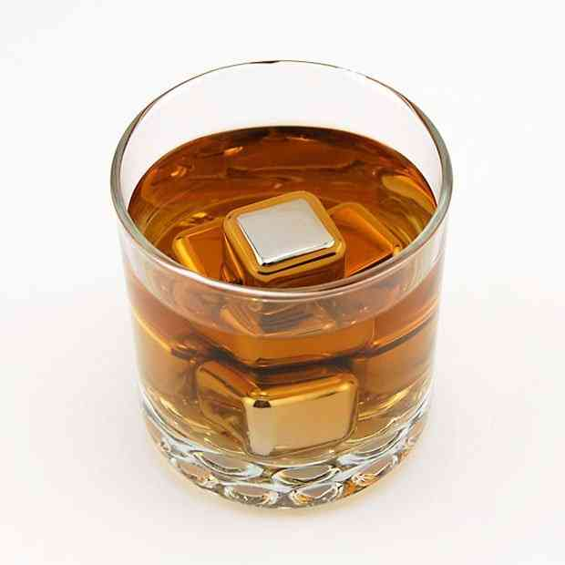 Stainless Steel Ice Cubes