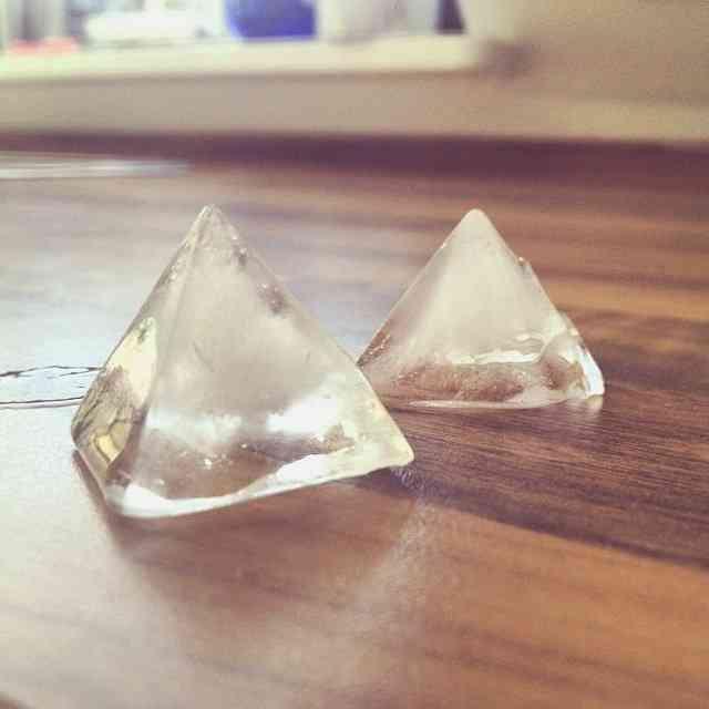 Mini Pyramid Shaped Silicone Mold