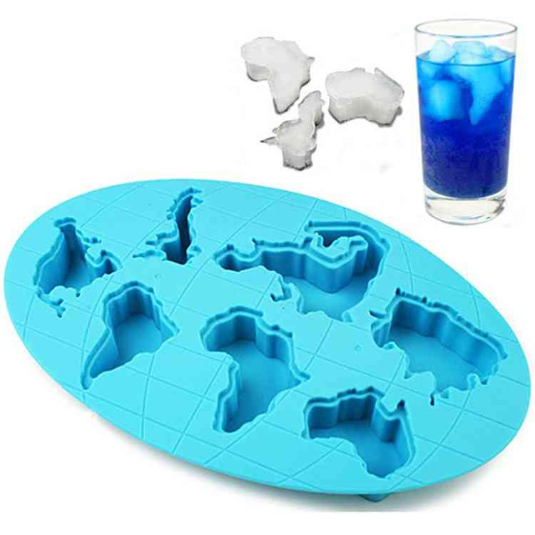 Global Warming Continents- Ice Cube Tray