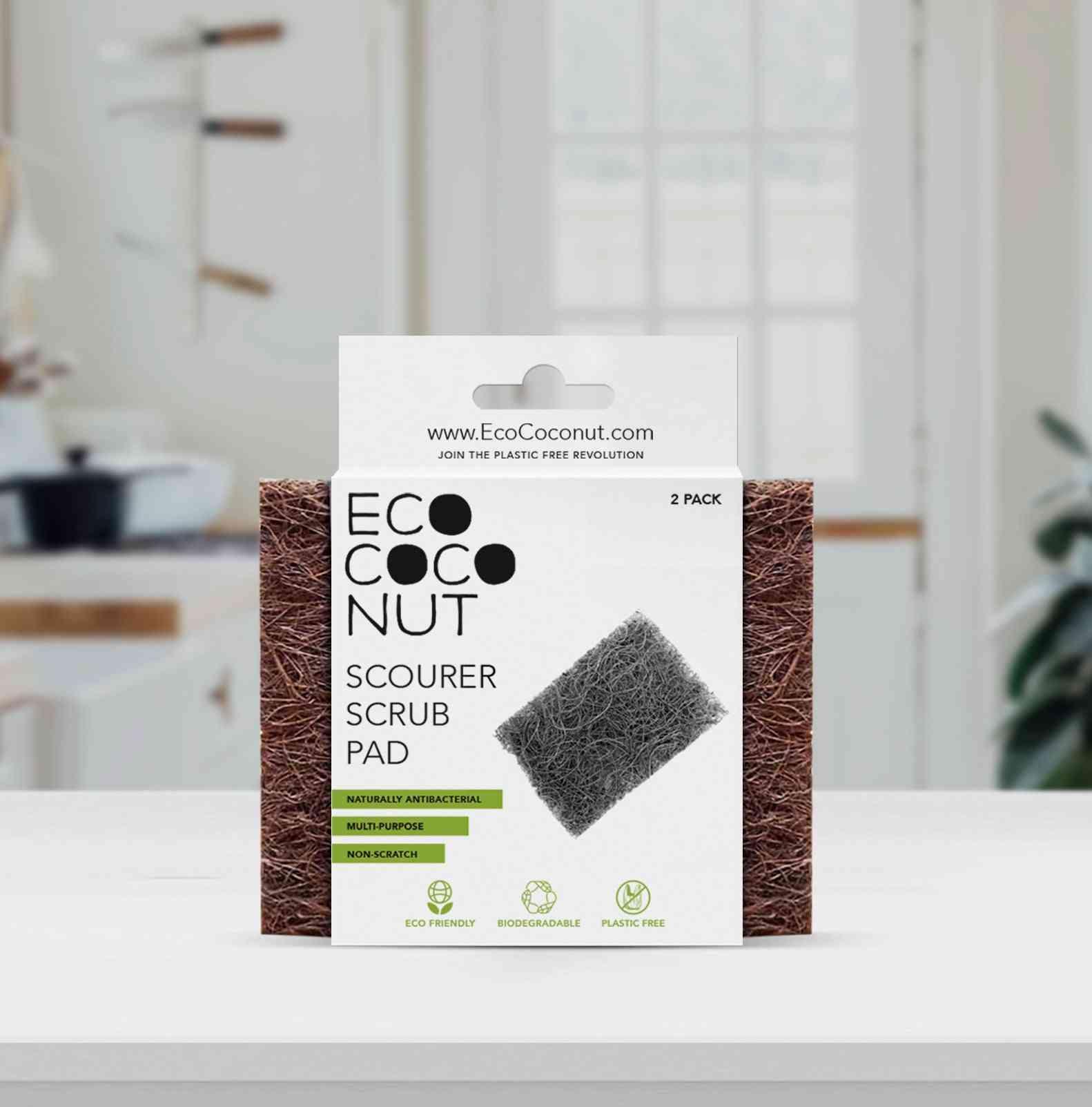 Eco Coconut Scrub Pads
