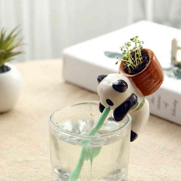 Animal Self Watering Plant Pot