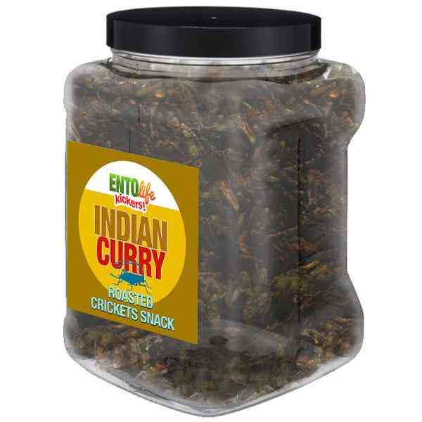Indian Curry Flavored Cricket Snack