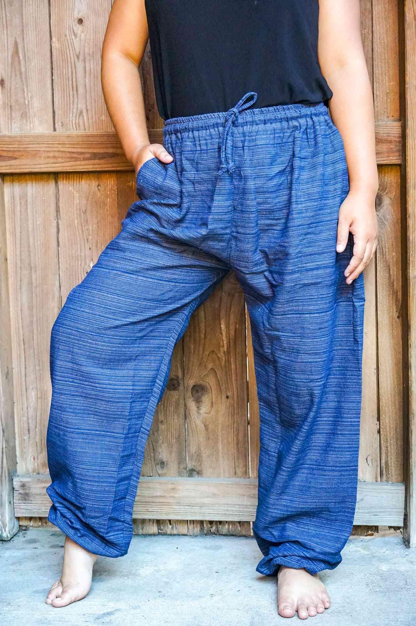 Cotton Boho Hippie Gypsy Pants