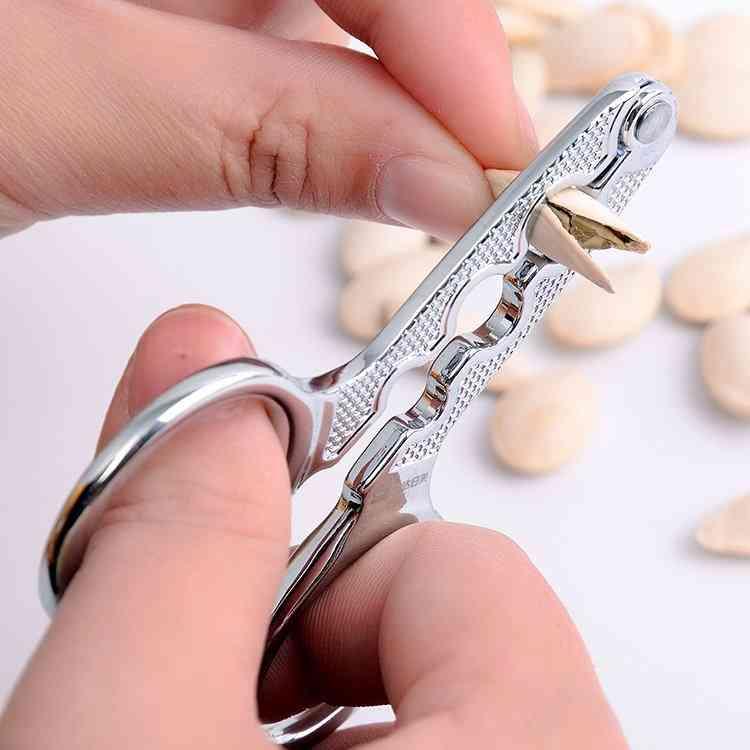 Stainless Steel Seed Nutshell Cracker