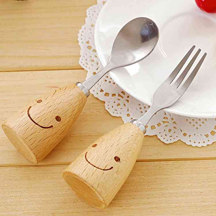 Emoji Spoon And Fork Set