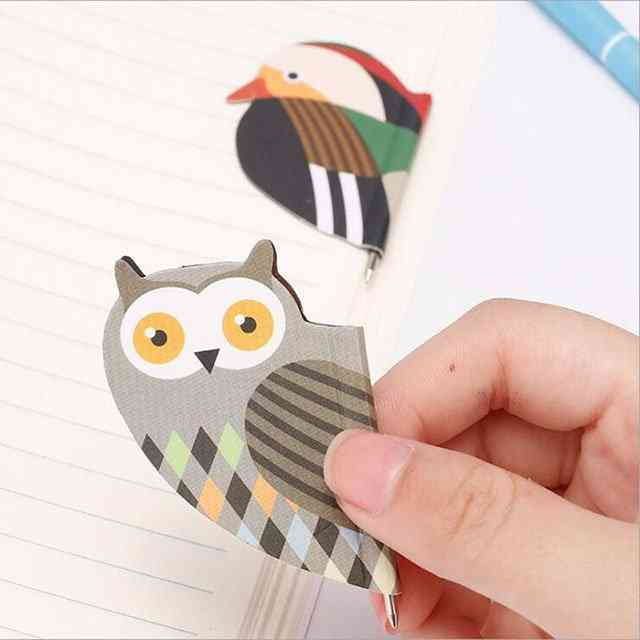 Cartoon Magnetic Bookmark And Pen