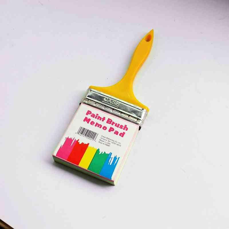 Paint Brush Shape-hanging Memo Pad