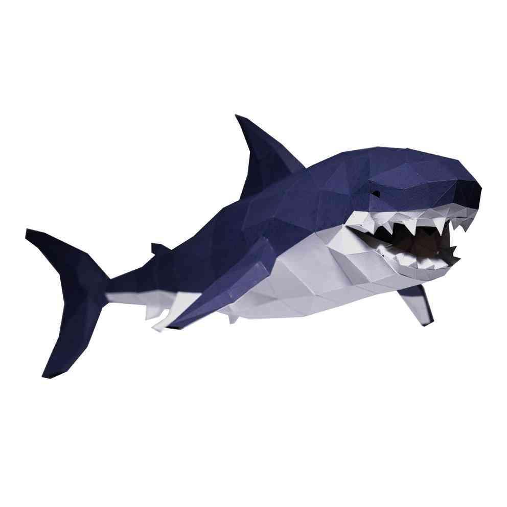 3d Shark Paper Model