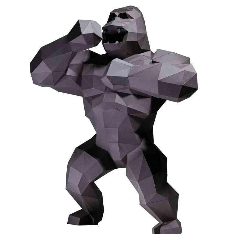 King Kong 3d Paper Model
