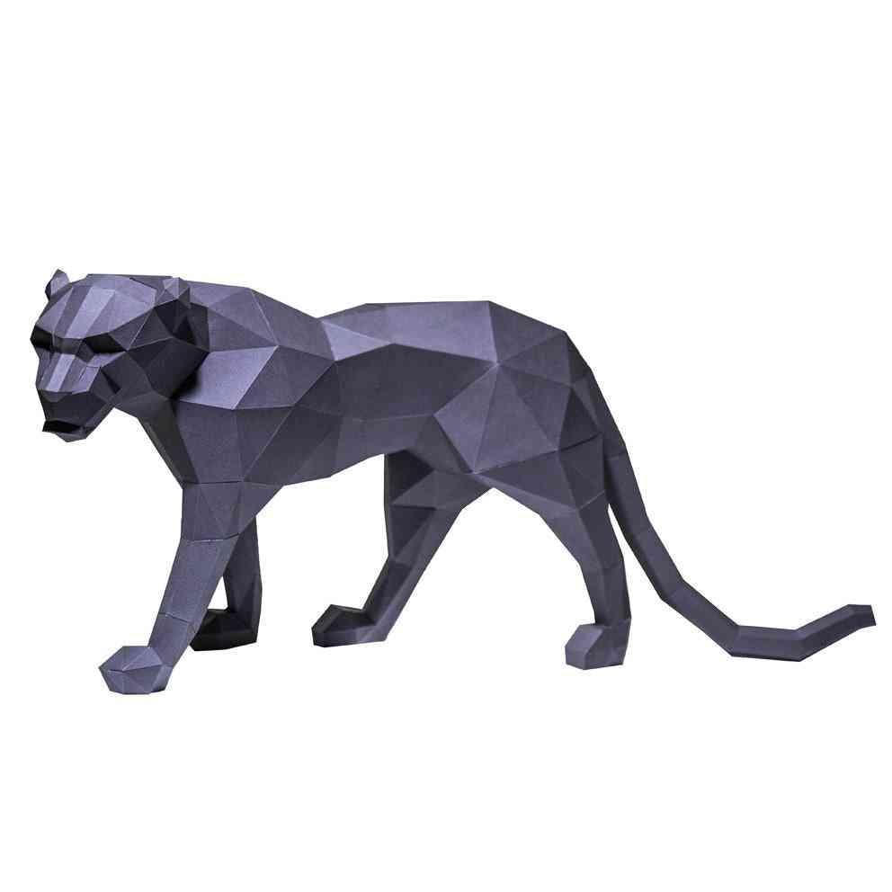 Black Panther 3d Paper Model
