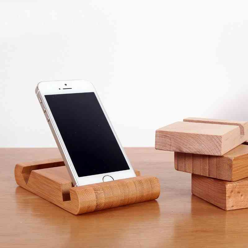 Bamboo Phone And Card Holder