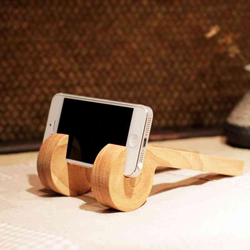 Wooden Phone Holder Bracket