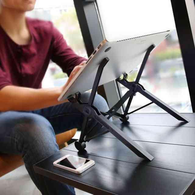Portable, Foldable & Adjustable Laptop Stands