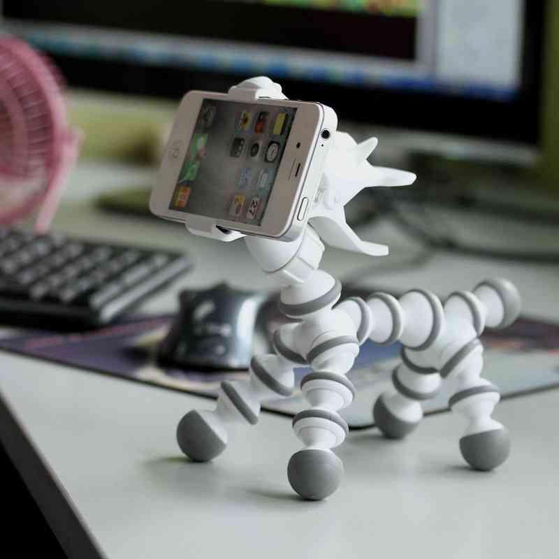 Flexible Cute Animal Phone Stand