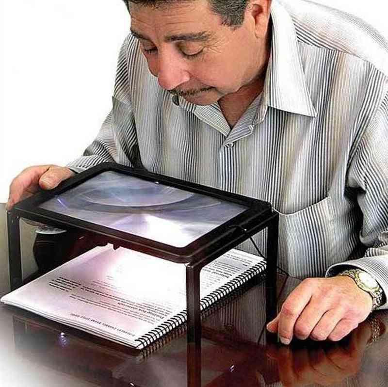 Reading Magnifier Led Light